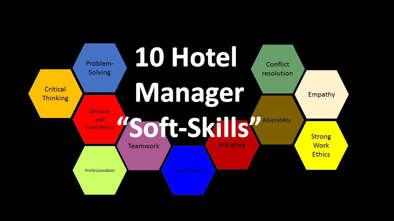 10 Hotel Manager Soft Skills?