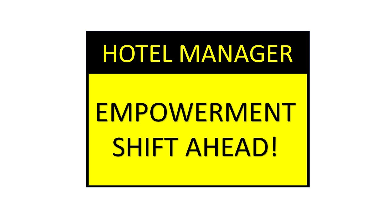 2020 Hotel Manager Empowerment
